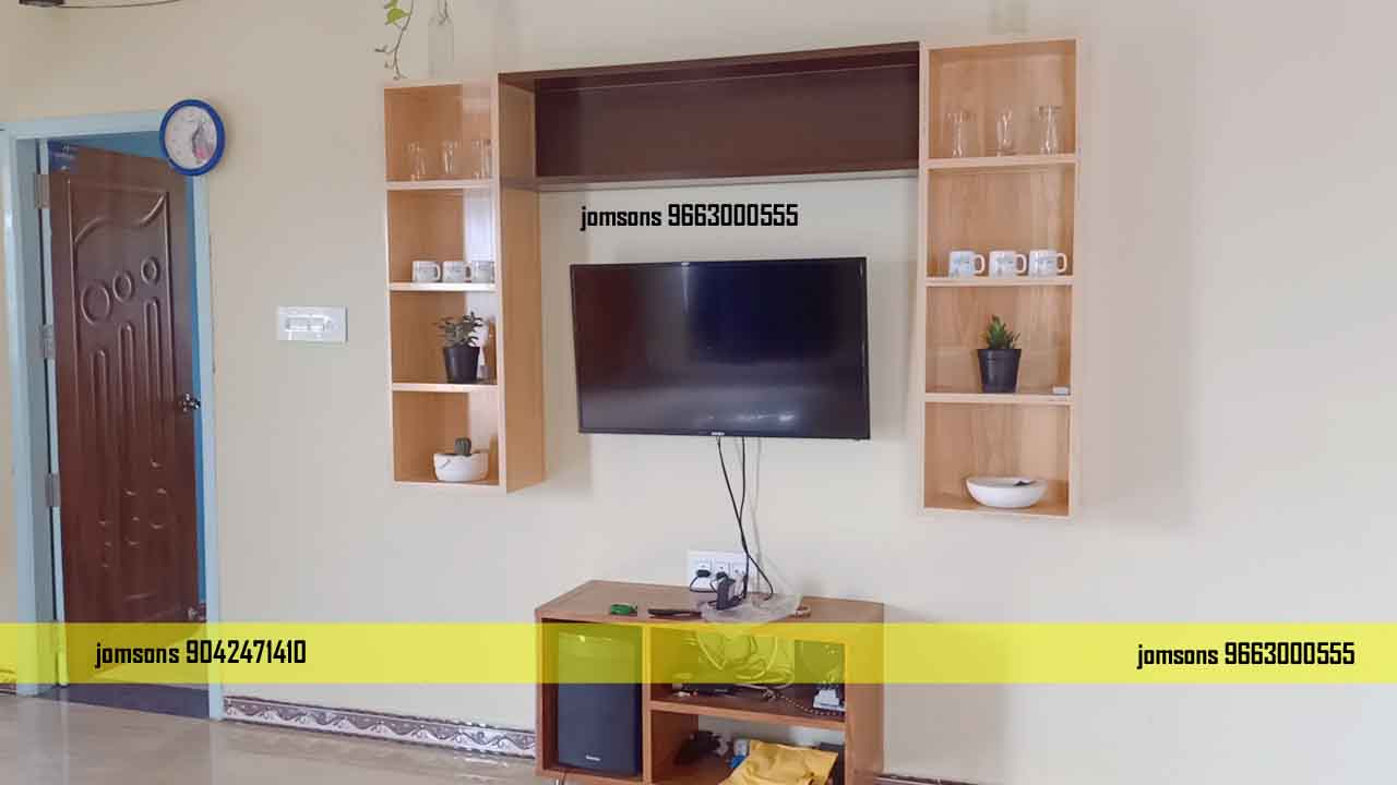 low cost pvc tv showcase