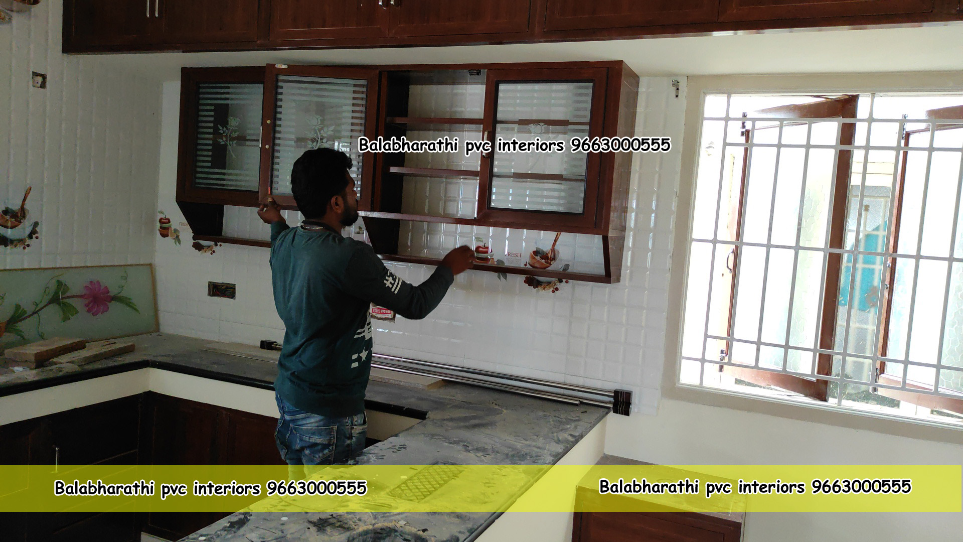 pvc kitchen cabinets anantapur